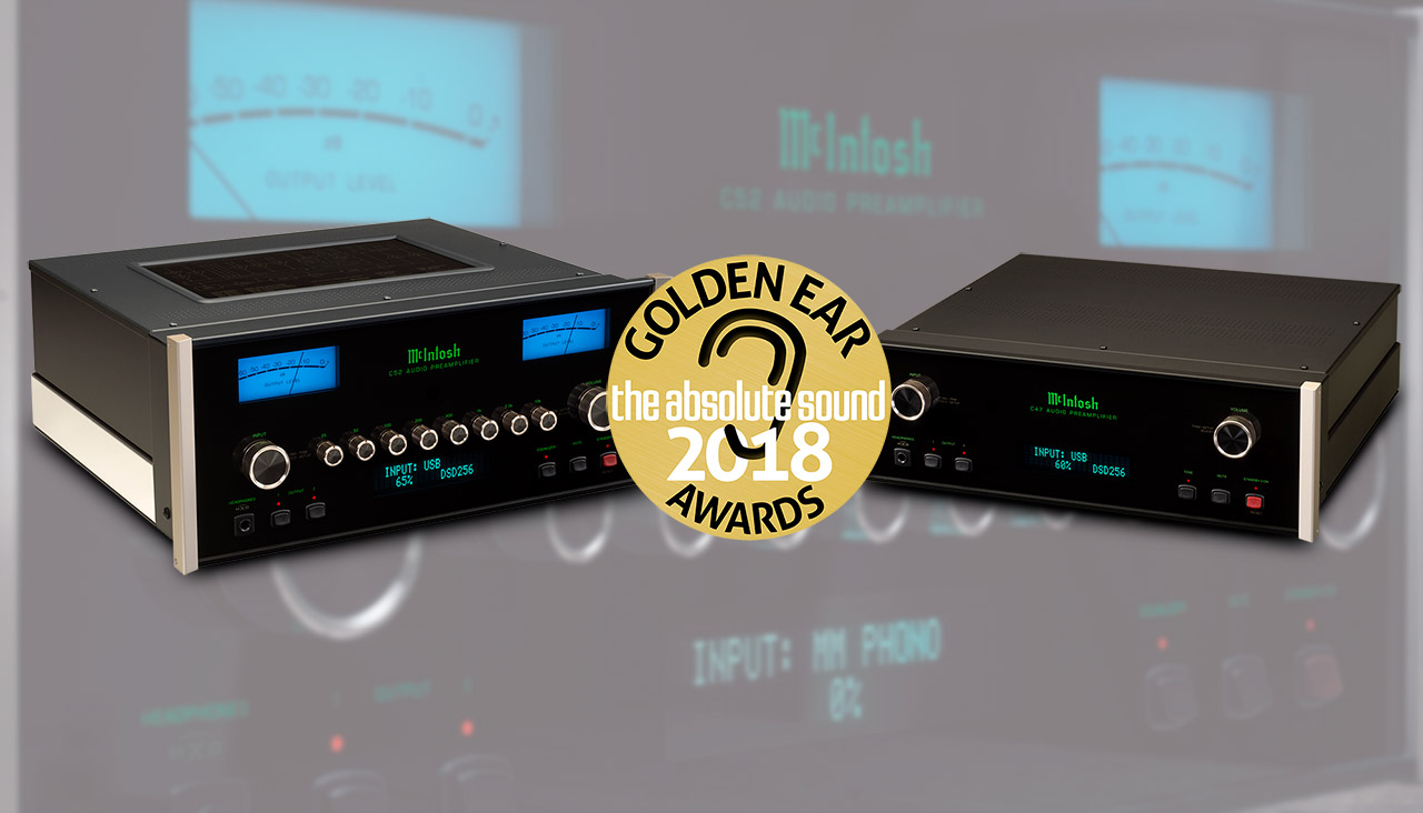 McIntosh C52 and C47 Preamplifiers 2018 Golden Ear Award from The Absolute Sound
