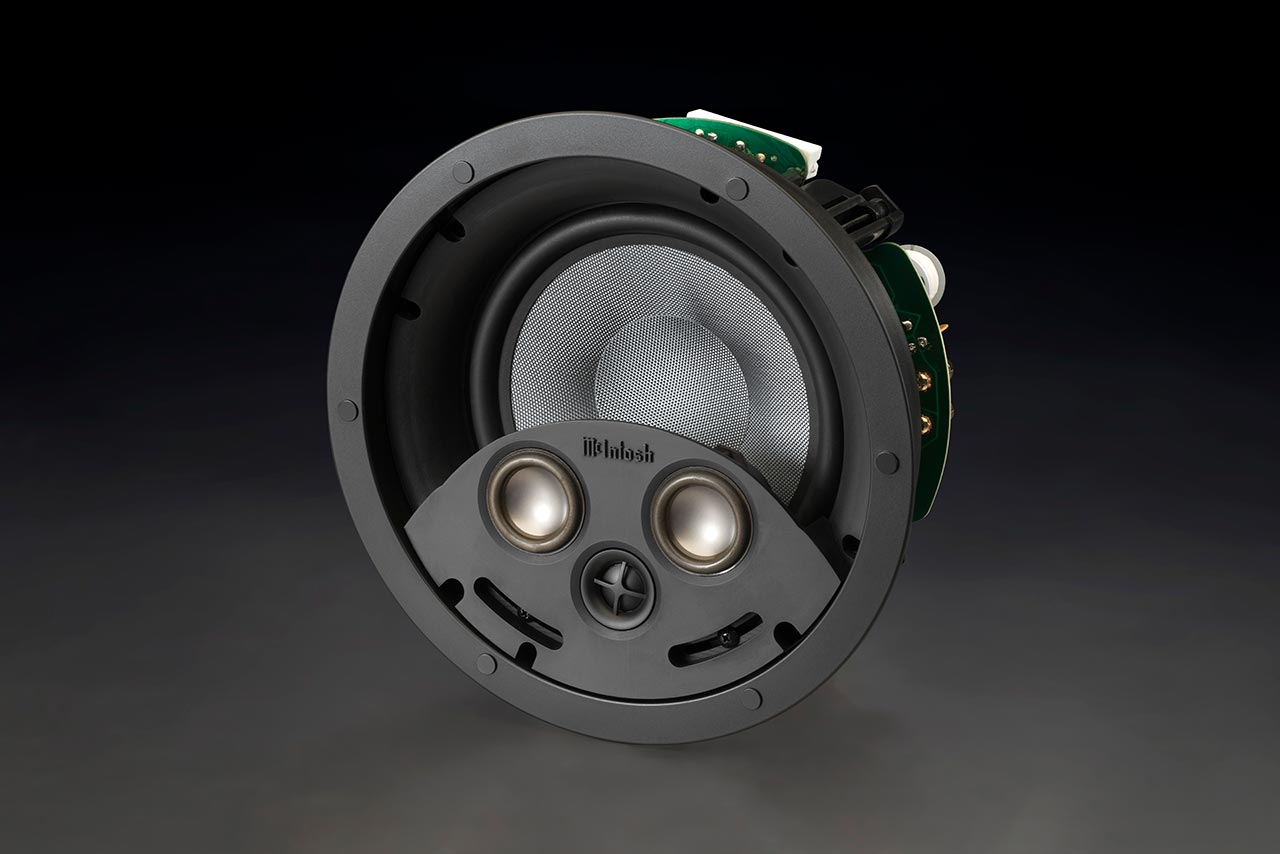 Mcintosh To Debut New Line Of Custom Install Products At 2018 Cedia Expo Construction Wiring Home Theater Each In Wall Speaker Will Come With All Required Hardware And Mounting Mechanisms For Post Installations Brackets Be