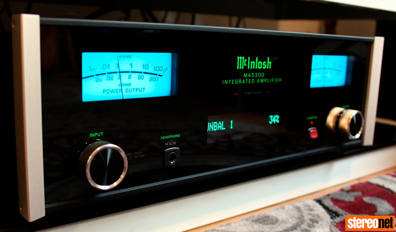 Stereonet Reviews The McIntosh MA5300