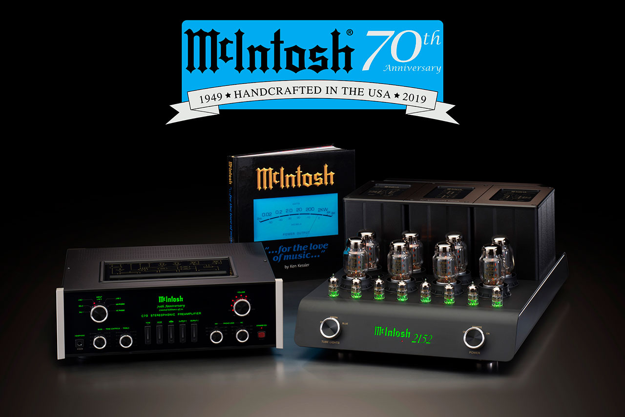 McIntosh 70th Anniversary Commemorative System