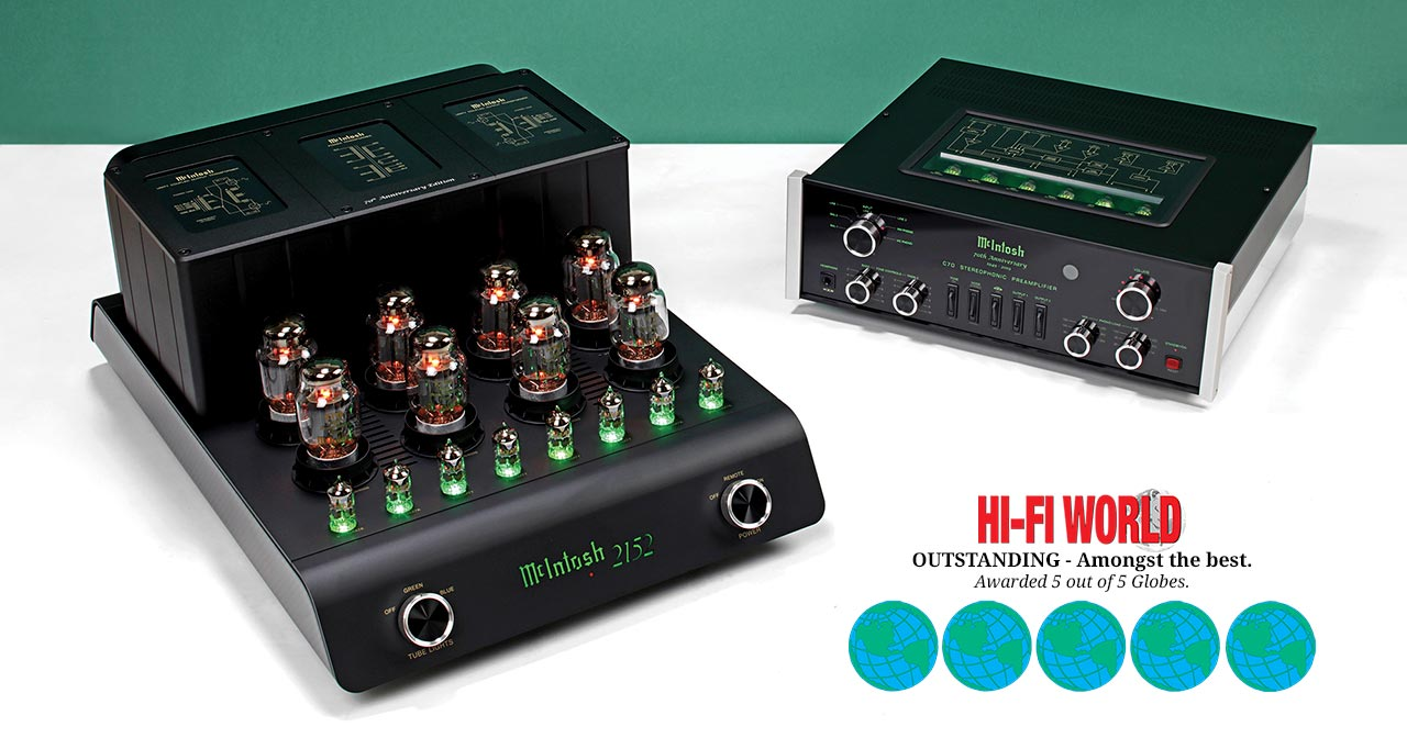 McIntosh MC2152 and C70 5-globe review by Hi-Fi World
