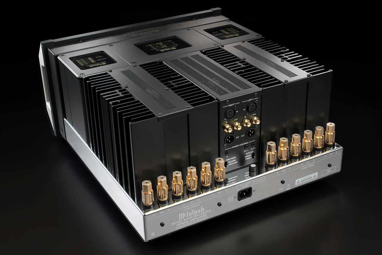 McIntosh - Stereophile reviews the MC462 Amplifier