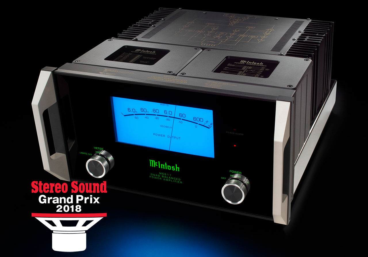 McIntosh MC611 Amplifier Stereo Sound Grand Prix Award 2018