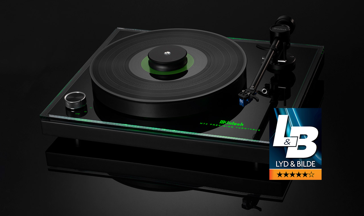 McIntosh MT2 Turntable Lyd and Bilde