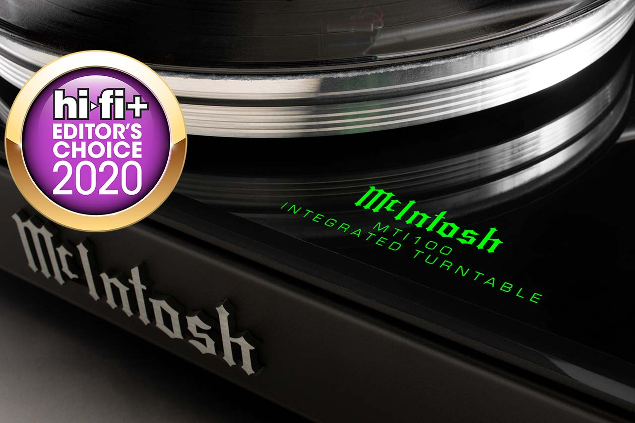 McIntosh MTI100 HiFi+ Editor's Choice Award 2020