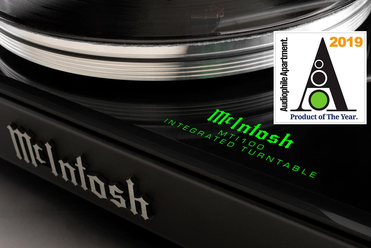 McIntosh MTI100 The Audiophile Apartment Product of the Year 2019