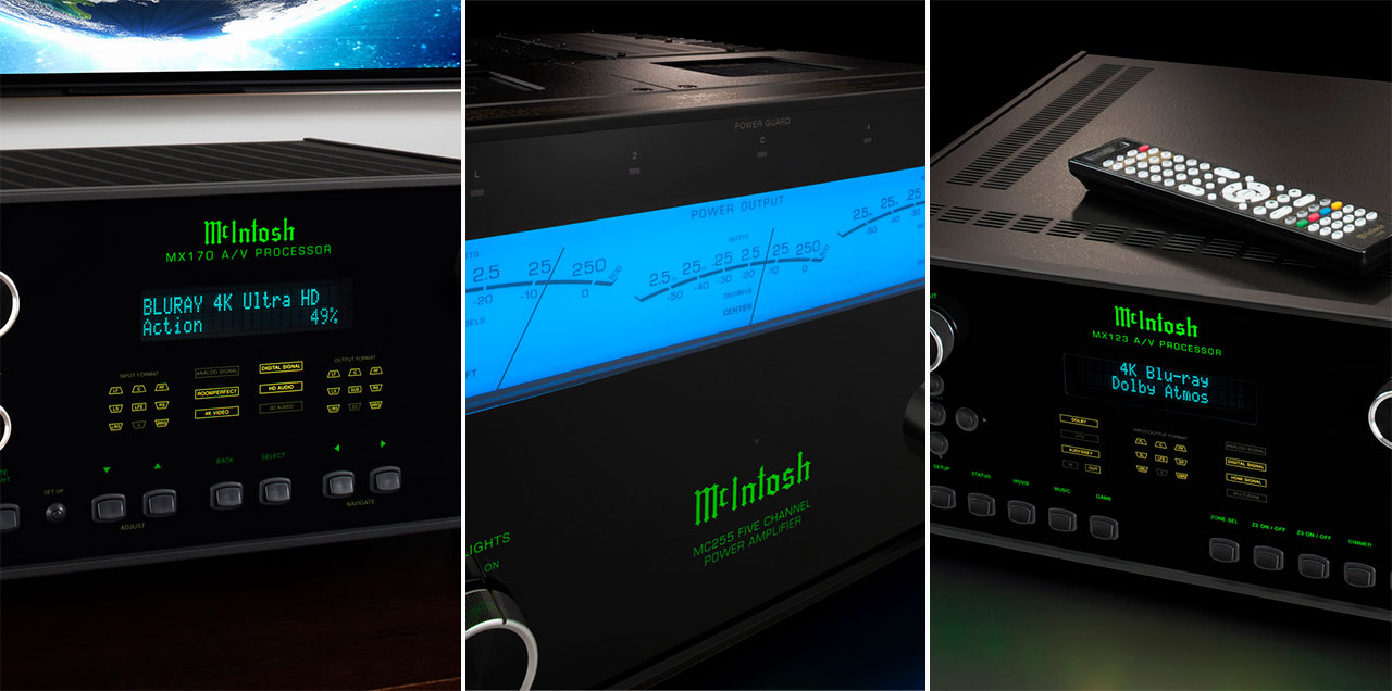 McIntosh MX170 MX123 MC255