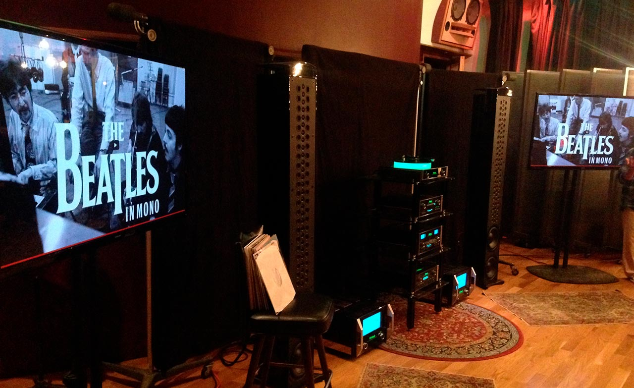 The Beatles in Mono powered by McIntosh at Electric Lady Studios