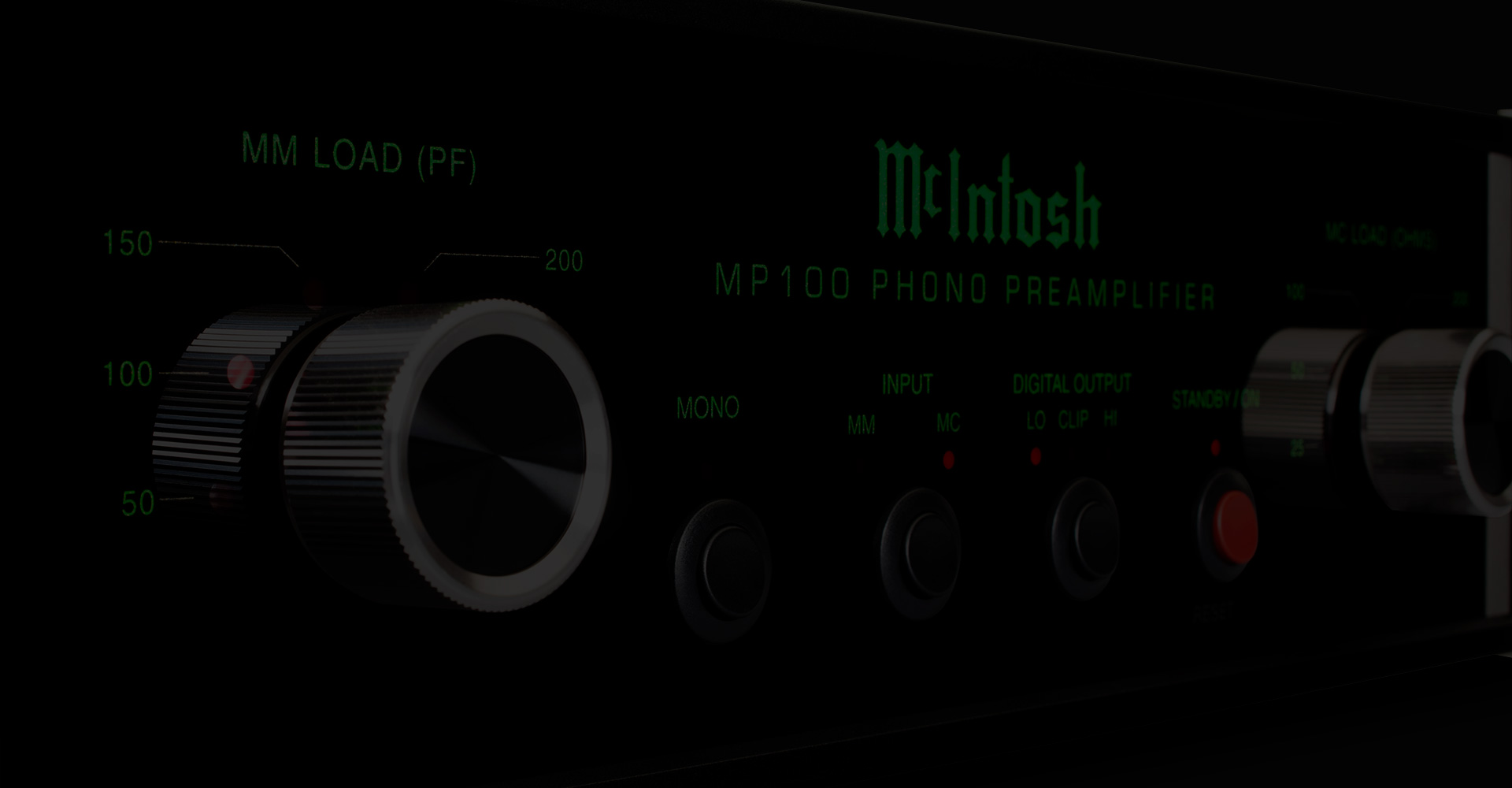 McIntosh phono preamplifiers