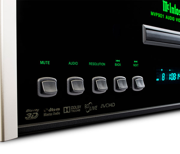 McIntosh Bluray players