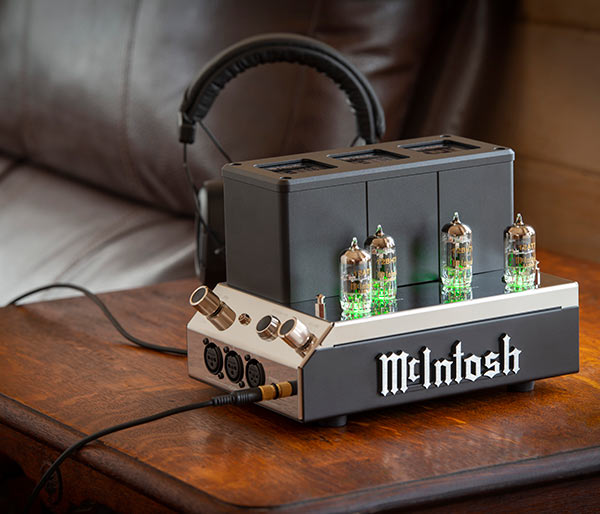 McIntosh headphone amplifiers
