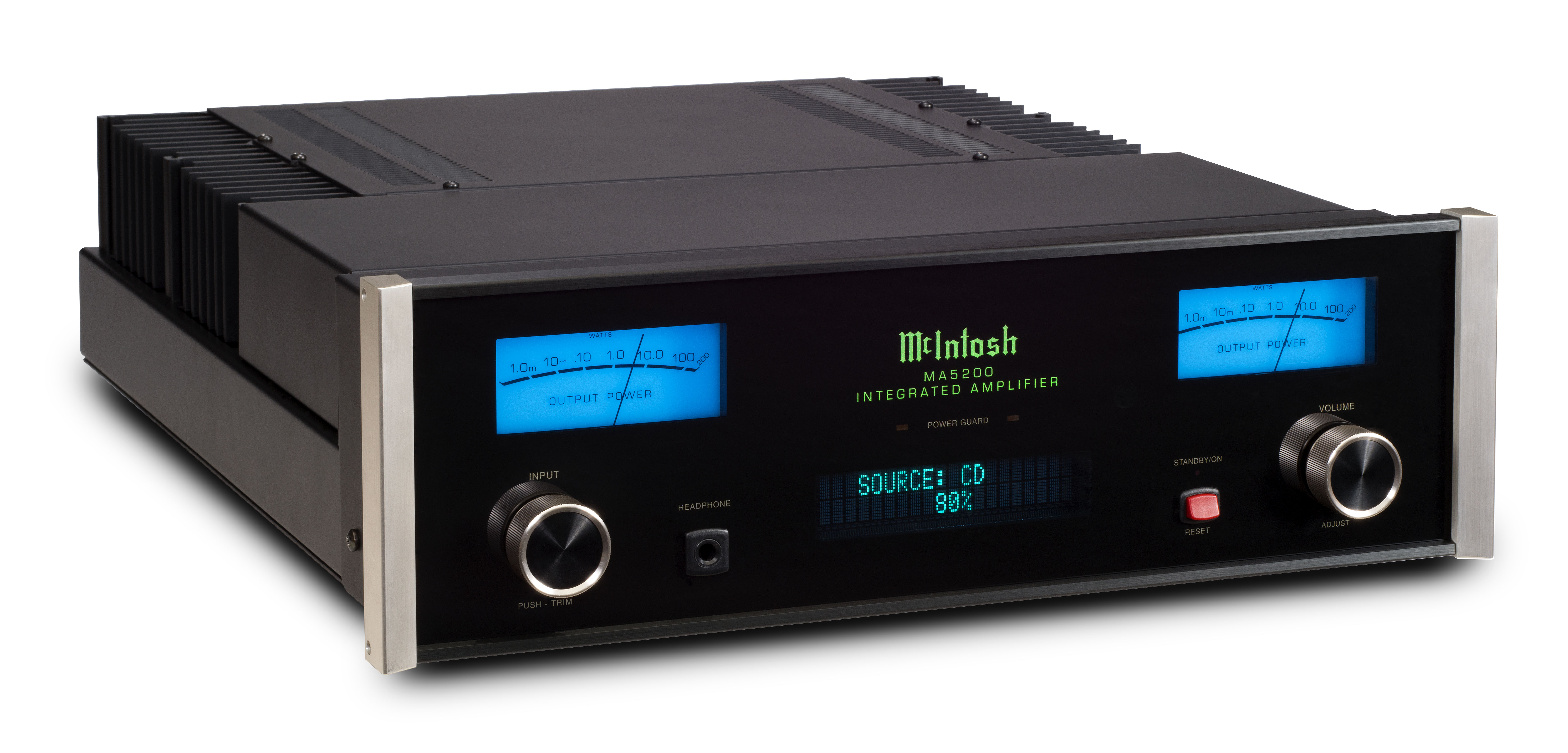 Mcintosh Ma5200 Integrated Amplifier Adresses Of Circuits Power Audio Amplifiers Manufacturers