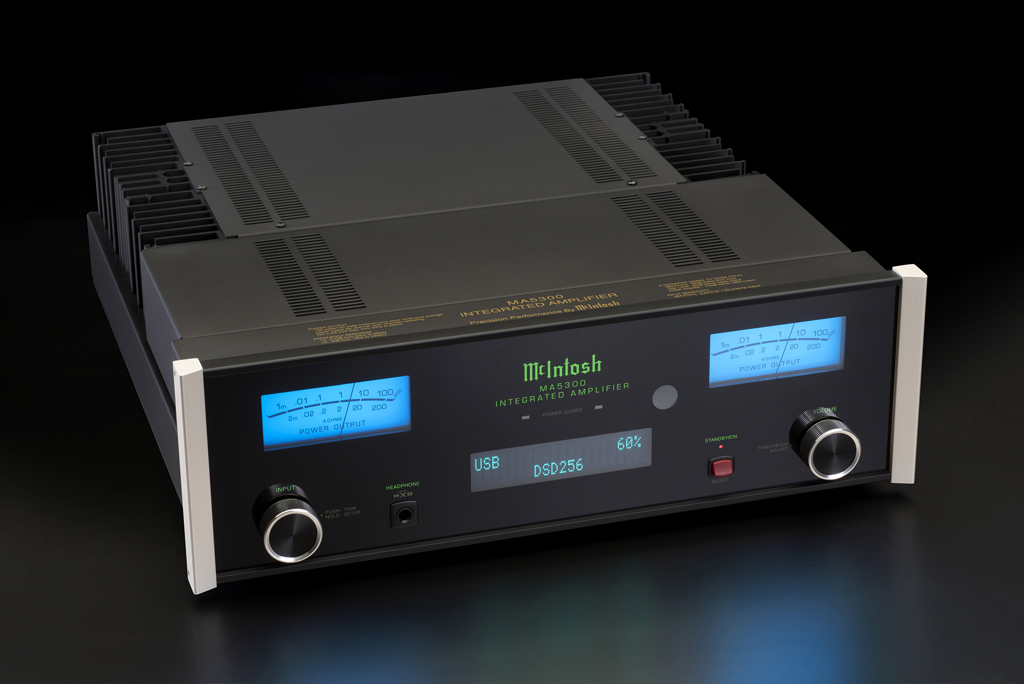 Mcintosh Ma5300 Integrated Amplifier Classical Telephone Hybrid Circuit
