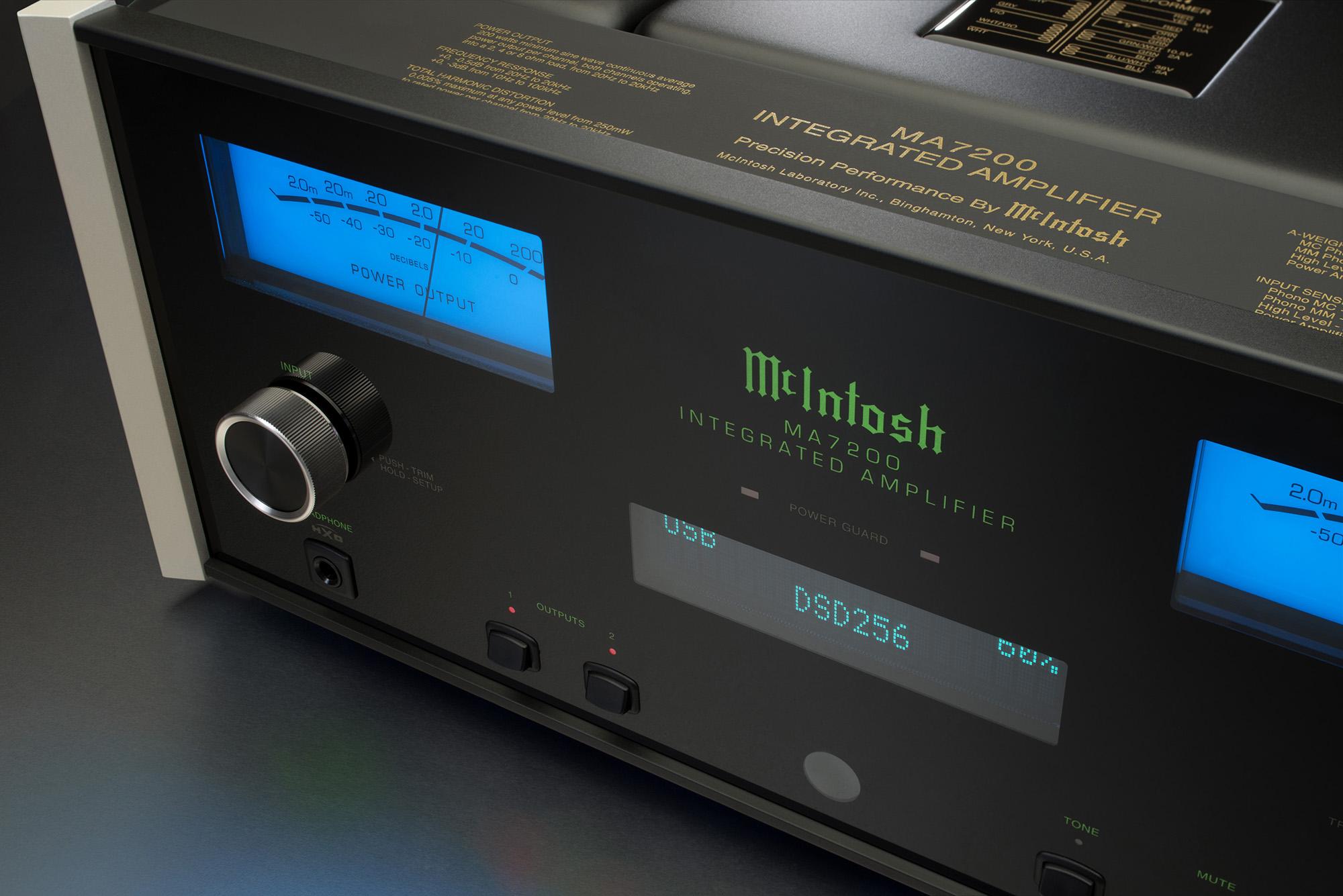 McIntosh MA7200 Integrated Amplifier