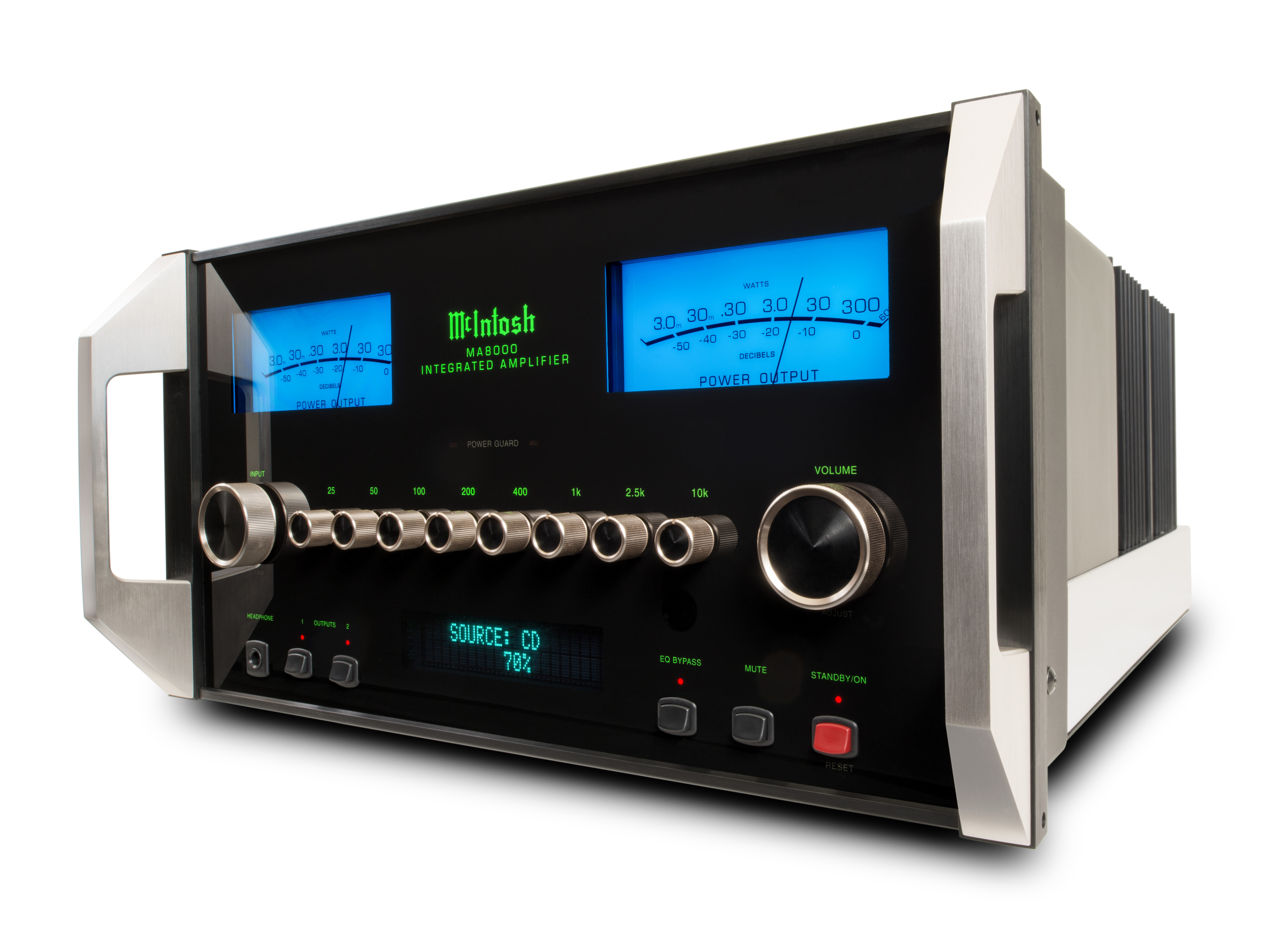 Mcintosh Ma8000 Integrated Amplifier Audio Basics A Modern Stereo System Has Two