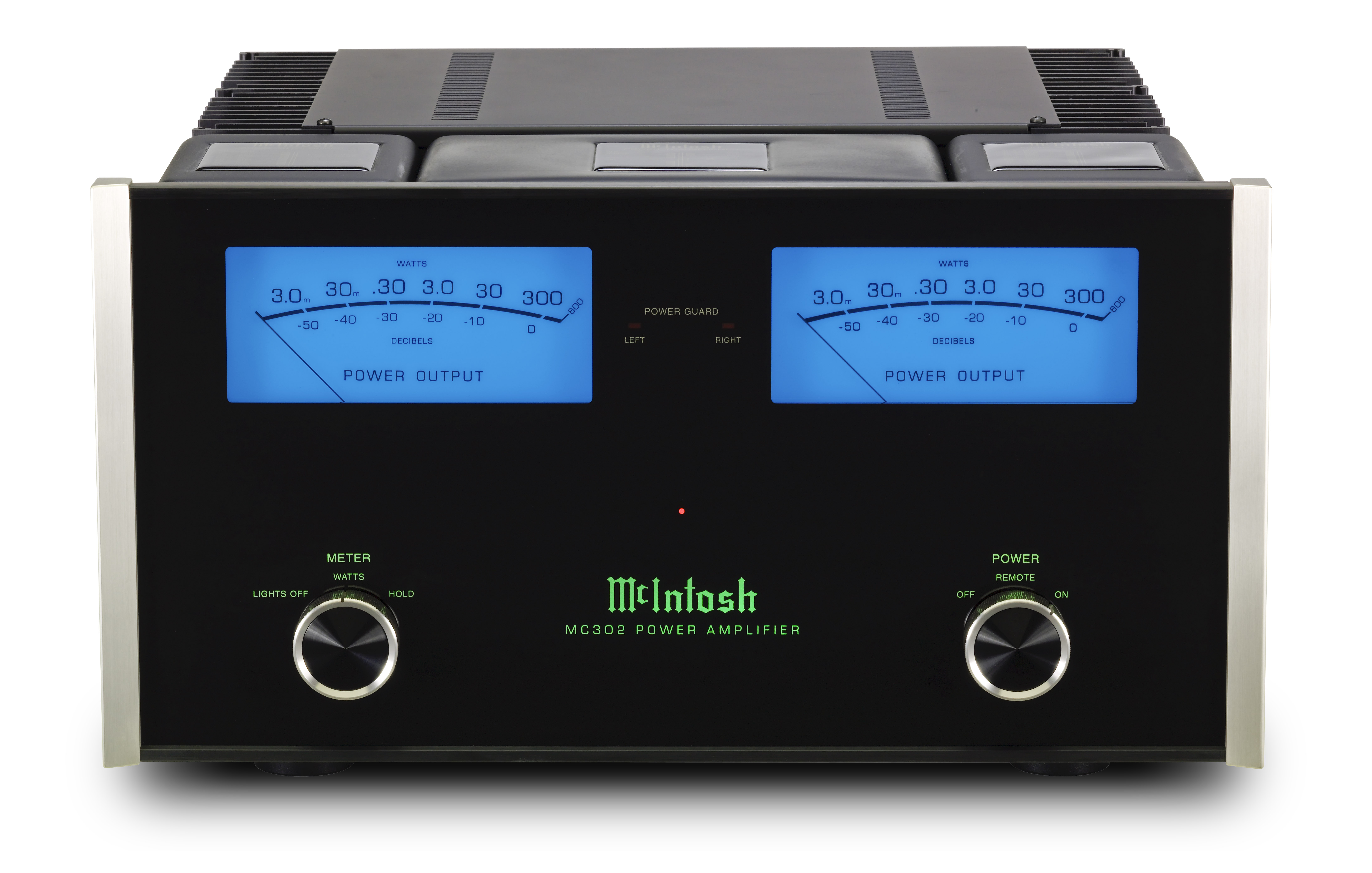 Mcintosh Mc302 Stereo Amplifier 300w High Power Circuit Schematic Electronics