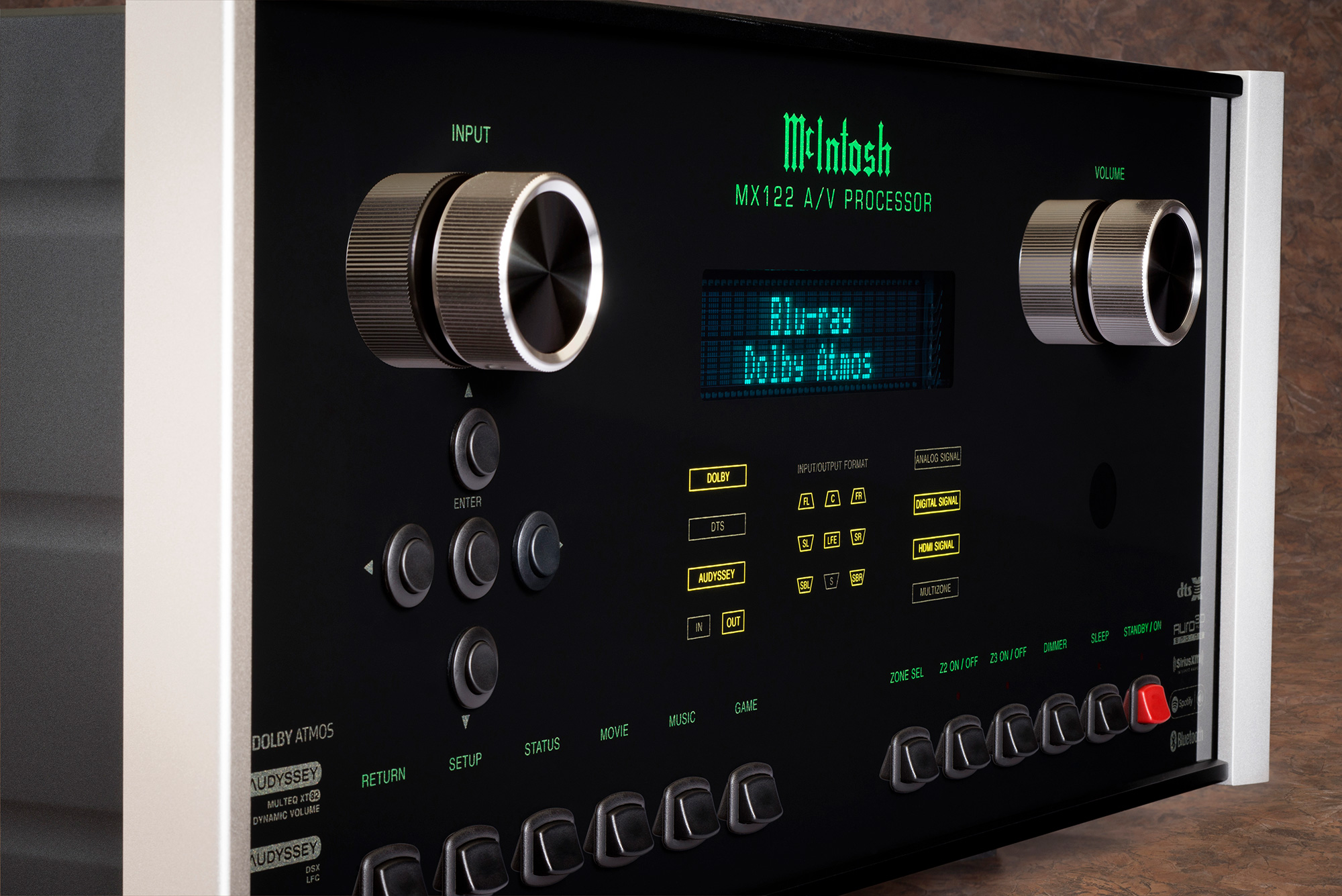 McIntosh Audio/Video Processors for Home Theater Systems