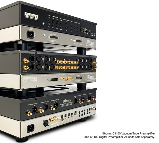 McIntosh C1100 and D1100 Preamplifiers