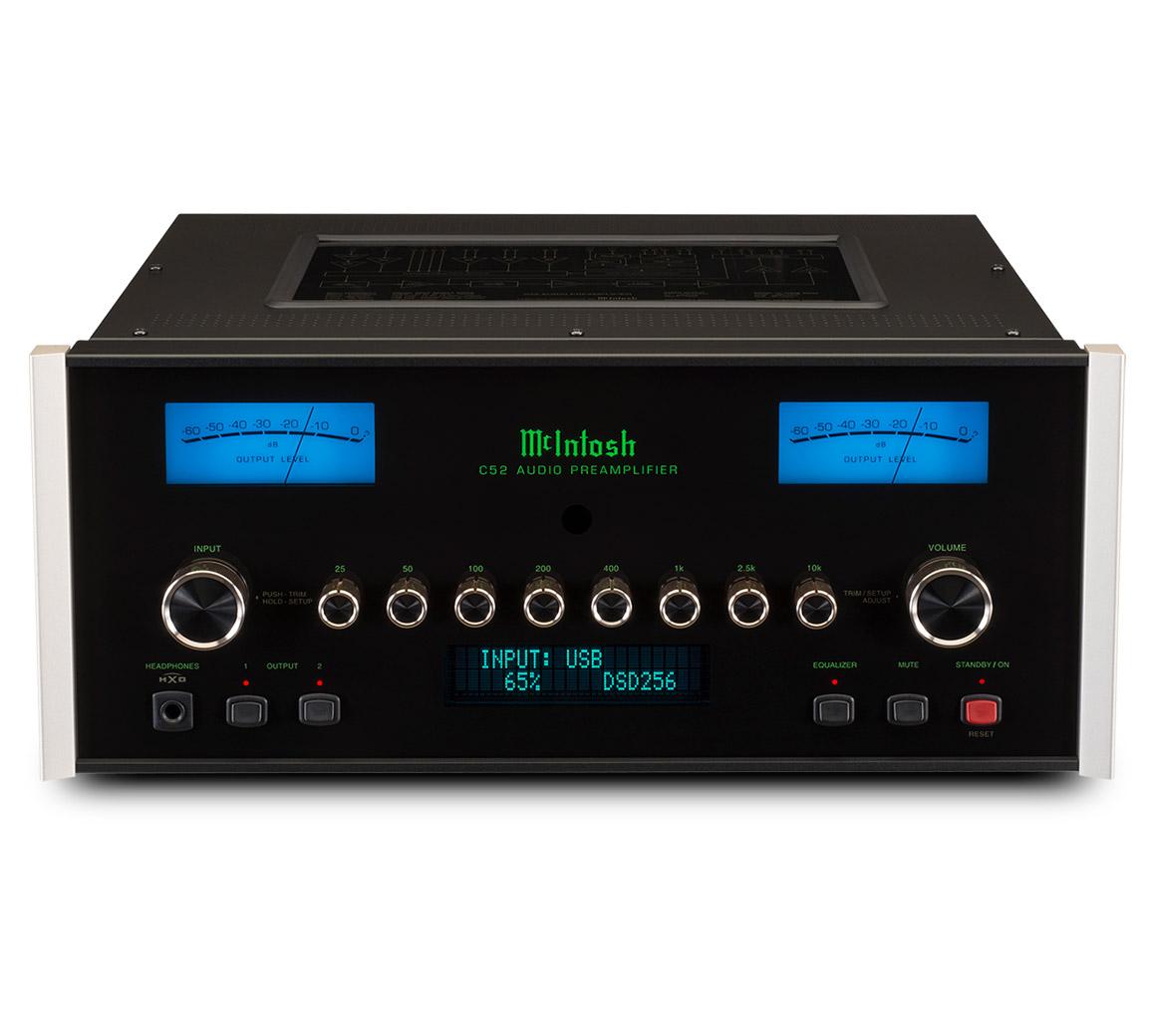 mcintosh c52 stereo preamplifier rh mcintoshlabs com