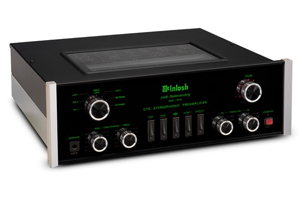 McIntosh C70 70th Anniversary Vacuum Tube Preamplifier