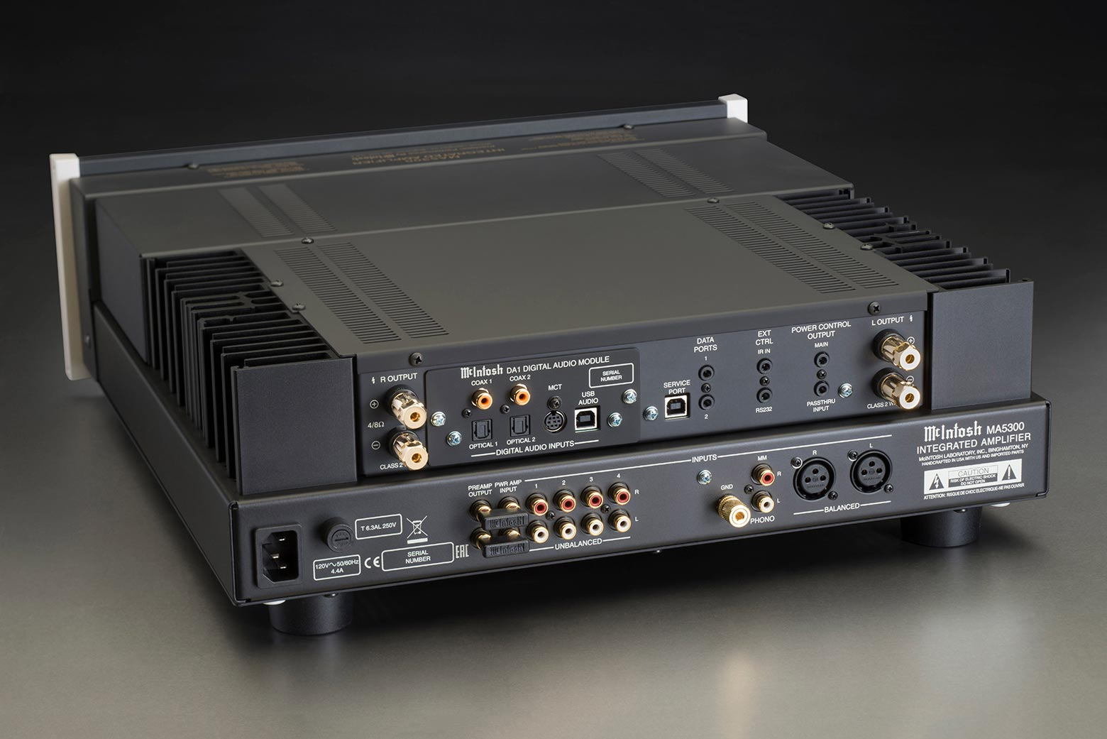 Mcintosh Ma5300 Integrated Amplifier 32 Watt Back Angle Backgroundashx