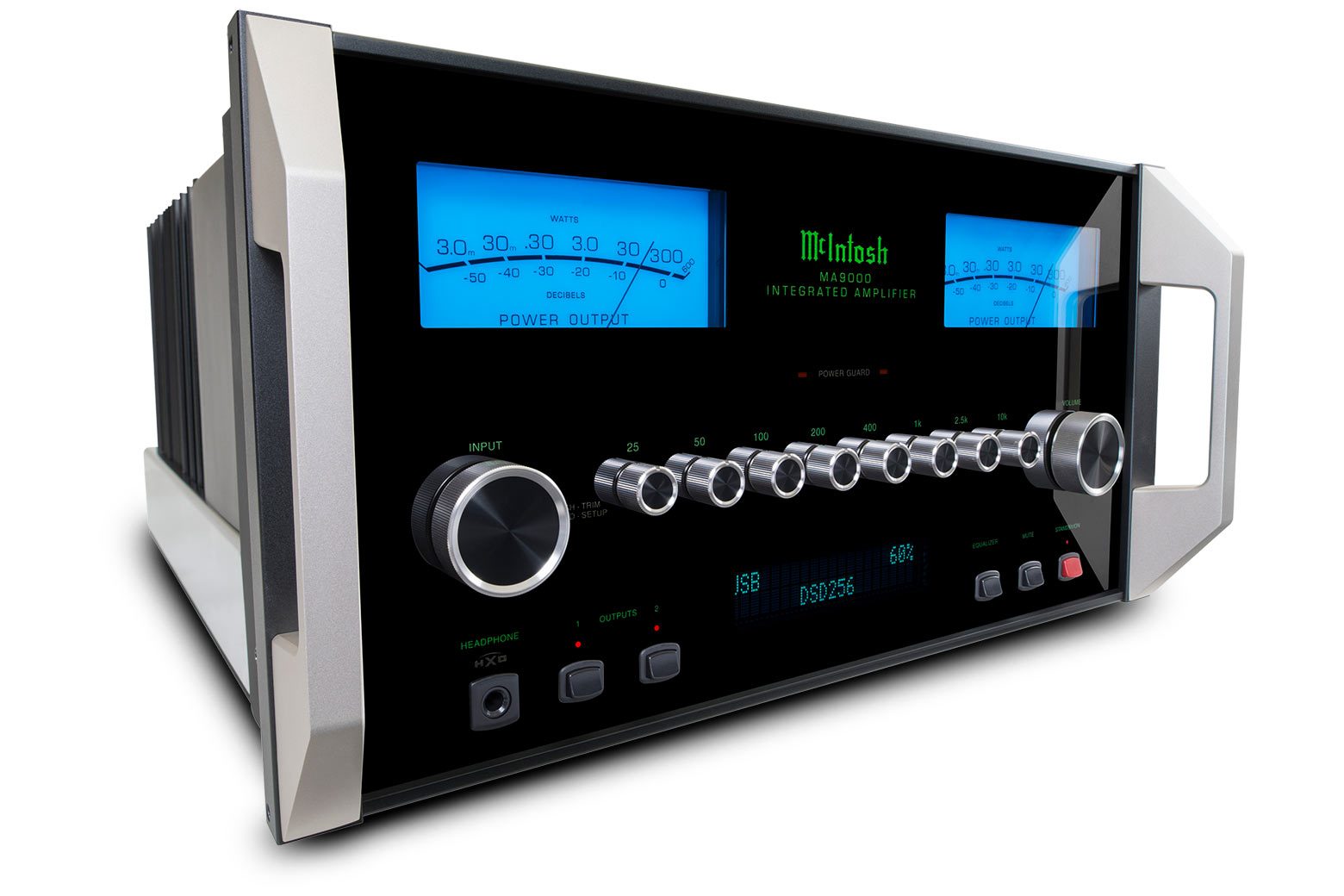 Mcintosh Ma9000 Integrated Amplifier Area Mv To Access The Power For Efficiency