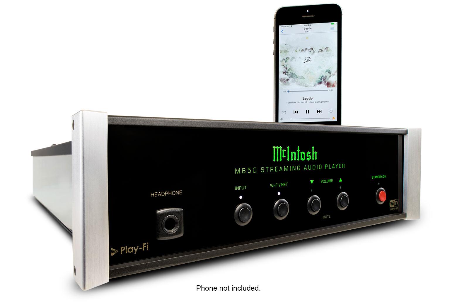 McIntosh MB50 Streaming Audio Player