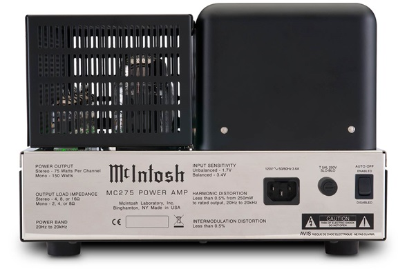 McIntosh MC275 Amplifier