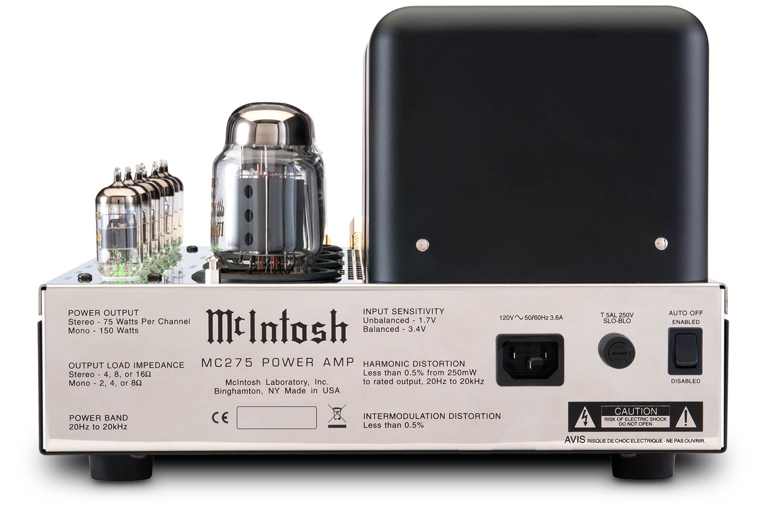McIntosh MC275 Vacuum Tube Amplifier