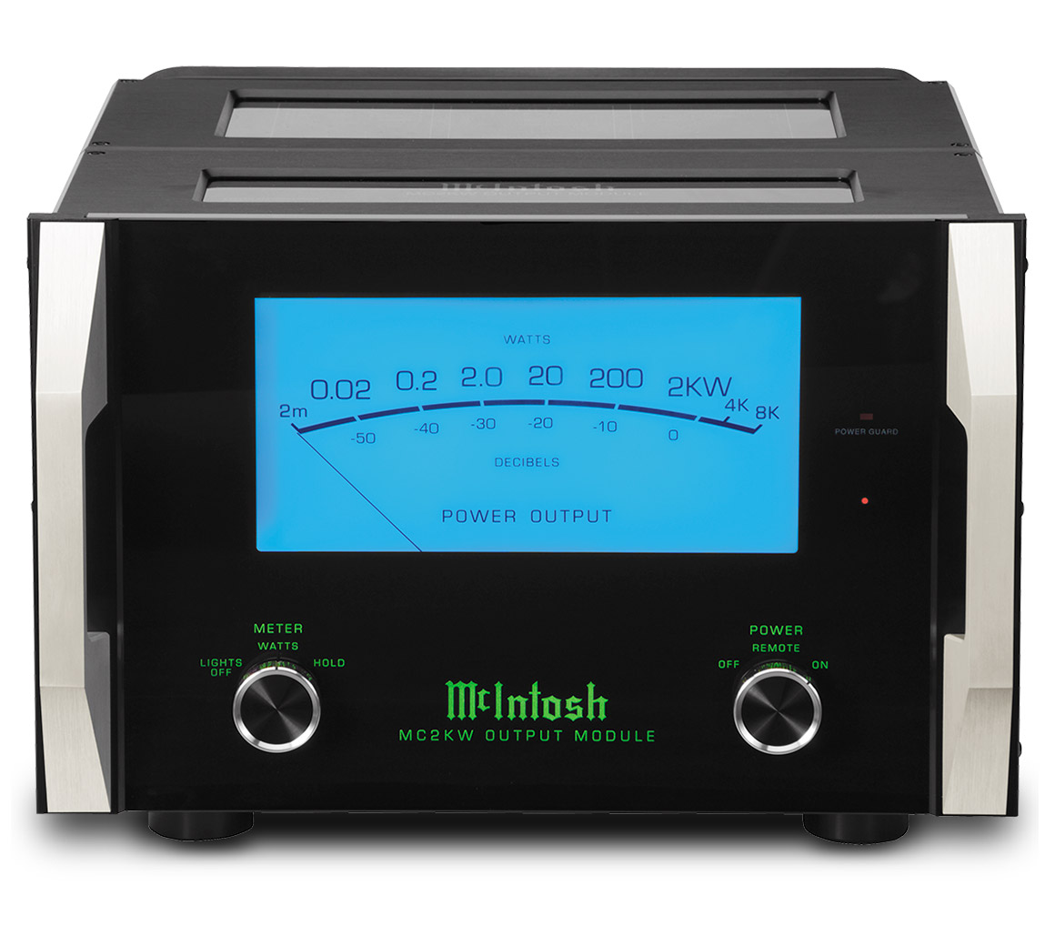 Mcintosh Mc2kw Amplifier Modular Audio Preamplifier