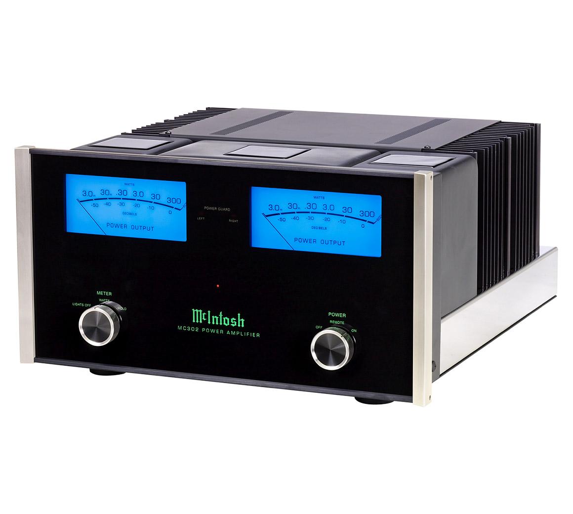 Mcintosh Mc302 Stereo Amplifier 200 Watt Power Circuit Diagram Electronic