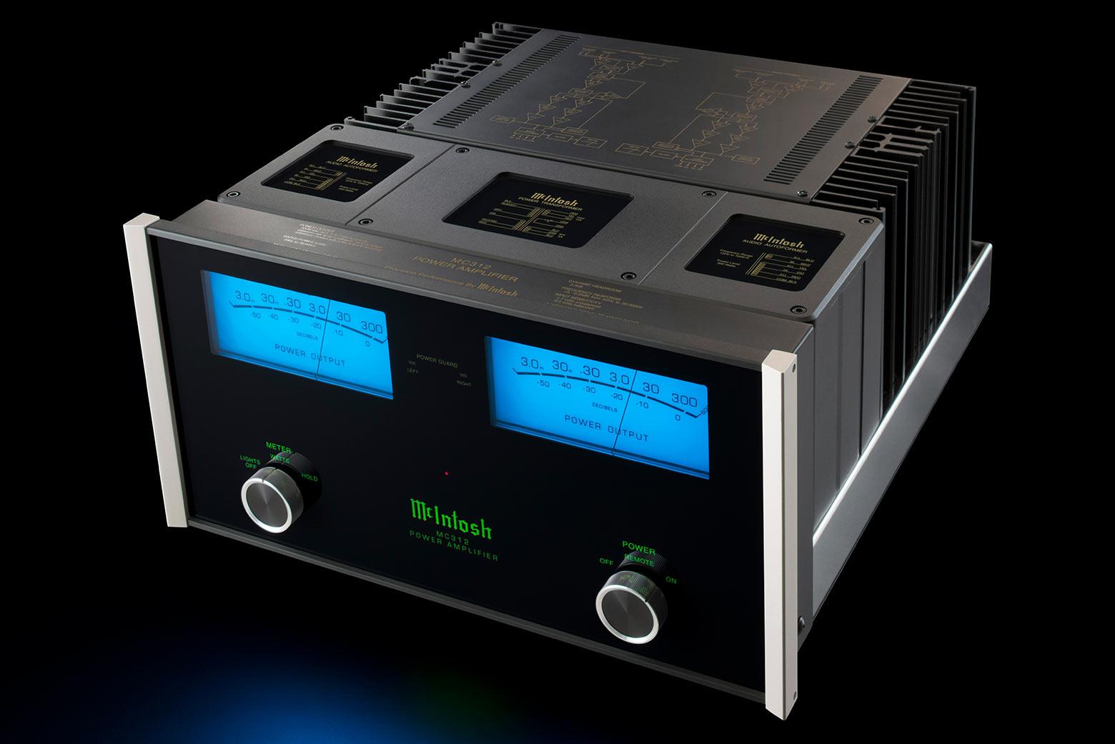 ... McIntosh MC312 Amplifier ...