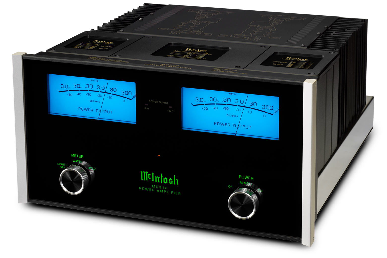 McIntosh MC312 Stereo Amplifier on
