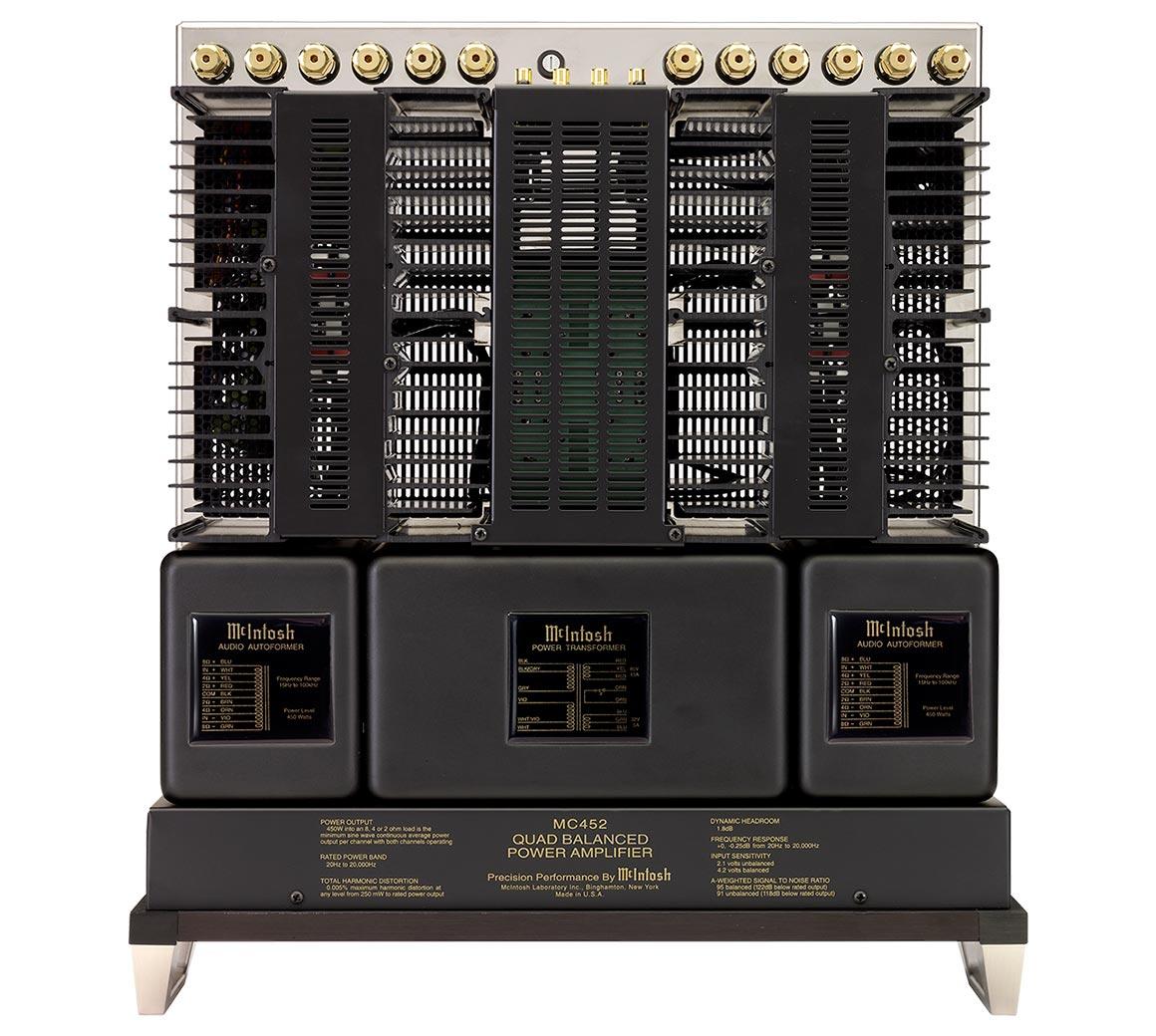 Mcintosh Mc452 Stereo Amplifier 8 Ohm Pa Speaker Wiring Diagram