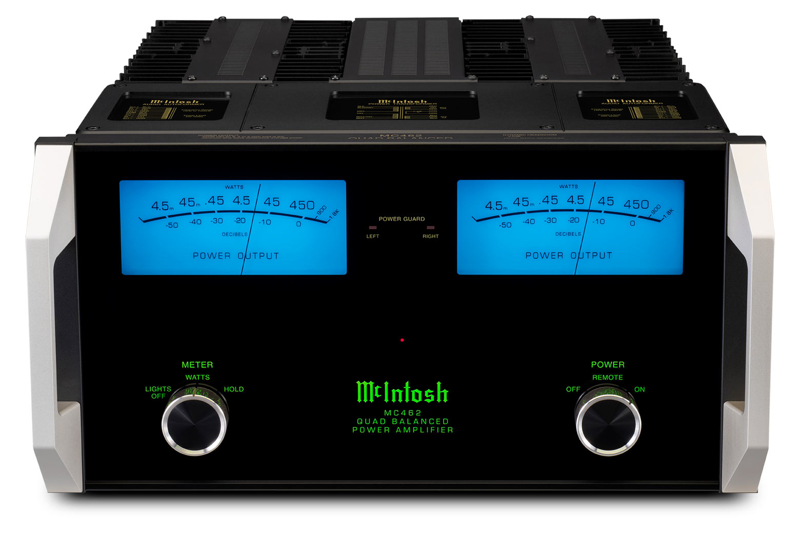 Mcintosh Mc462 Stereo Amplifier Audio Power Indicator For