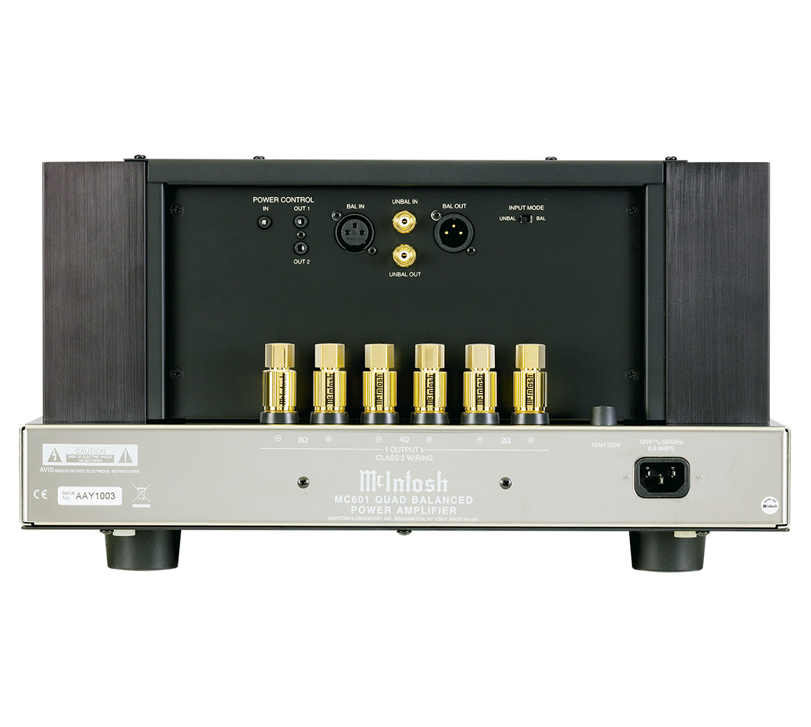 mcintosh mc601 amplifier rh mcintoshlabs com
