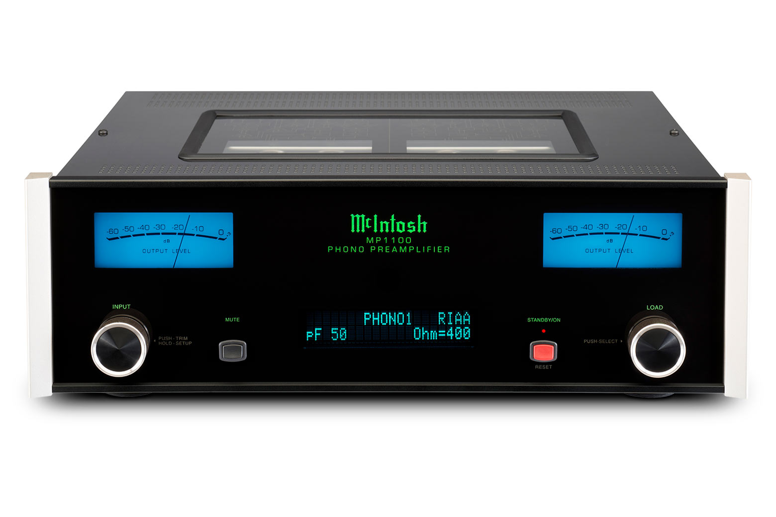 Mcintosh Mp1100 Vacuum Tube Phono Preamplifier The Filter Circuit For Scratch And Rumble Noise Electronic