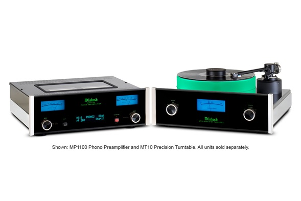 McIntosh MP1100 Phono Preamplifier and MT10 Precision Turntable