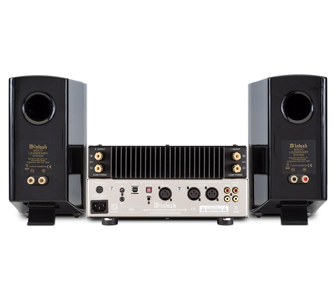 Mcintosh Mxa70 Integrated Audio System Wiring Home Equipment