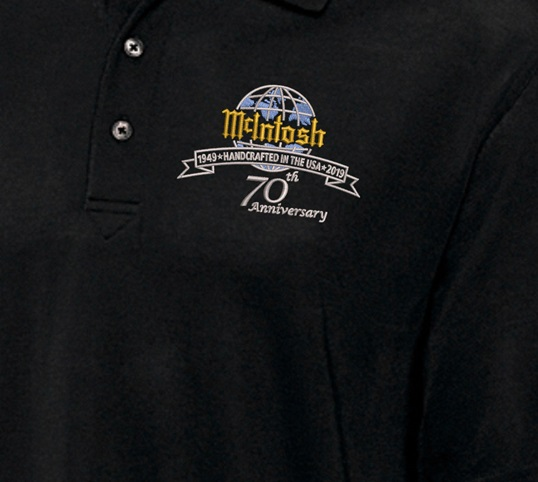McIntosh Polo with 70th Anniversary logo