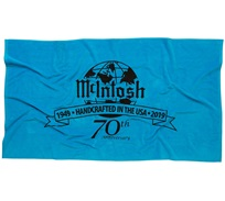 McIntosh Towel with 70th Anniversary logo