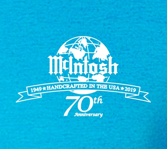 "McIntosh 70th Anniversary ""Still at 11"" T-shirt"