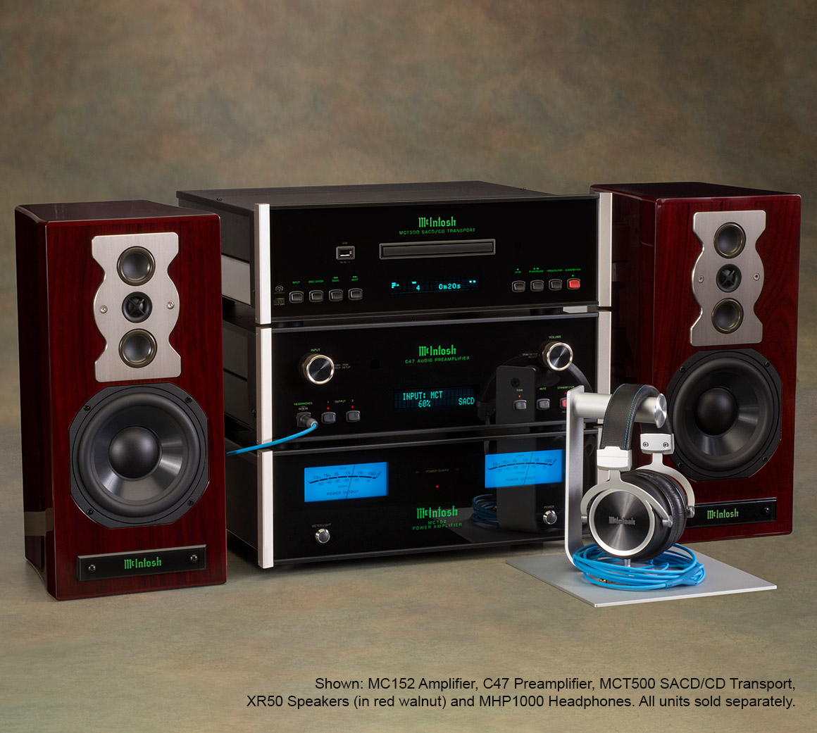 Mcintosh C47 Stereo Preamplifier Stage Audio With Very Good Performance Next