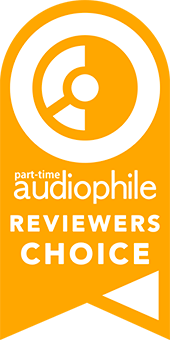 Part-Time Audiophile Reviewers Choice Award Ribbon