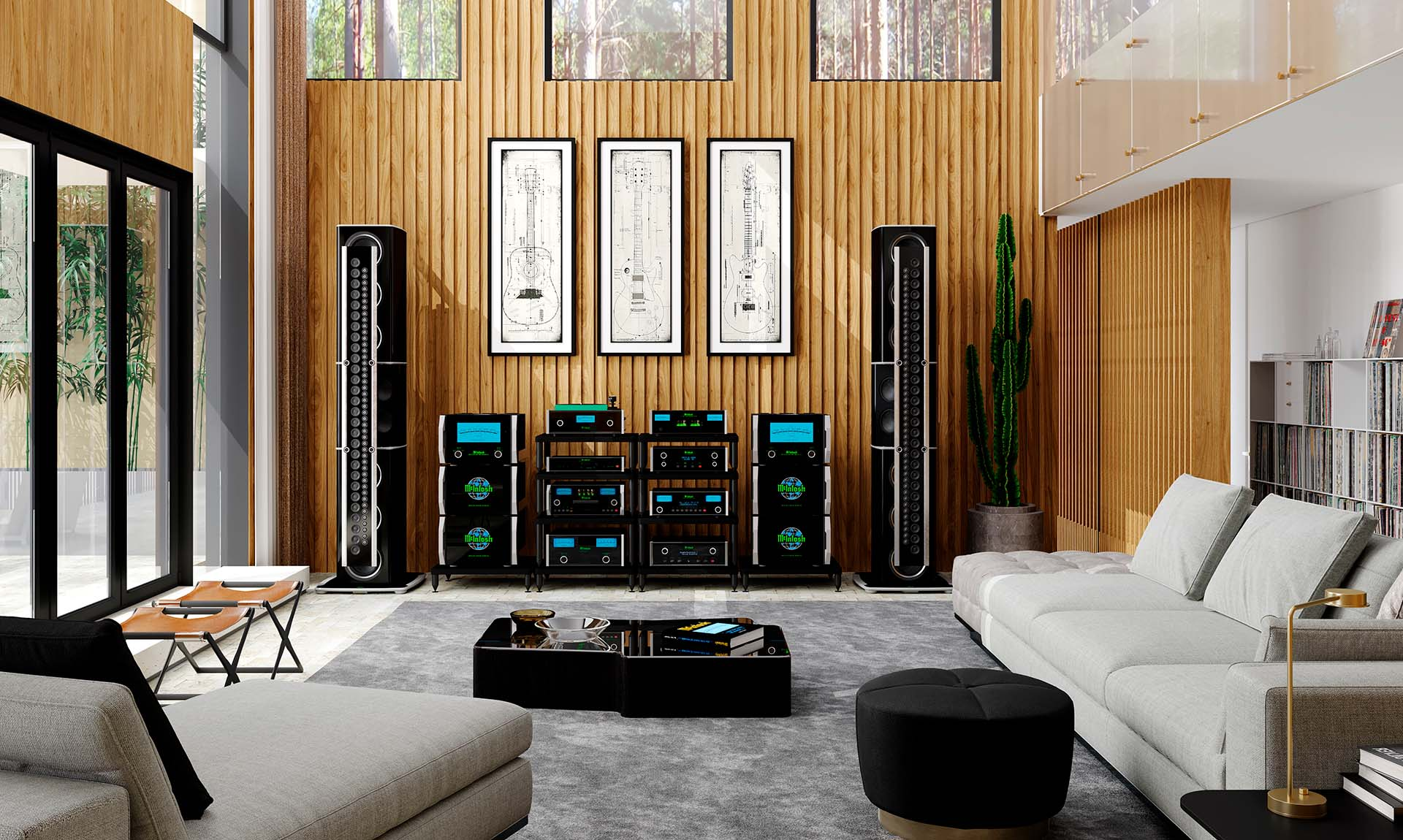 McIntosh Reference home audio music system