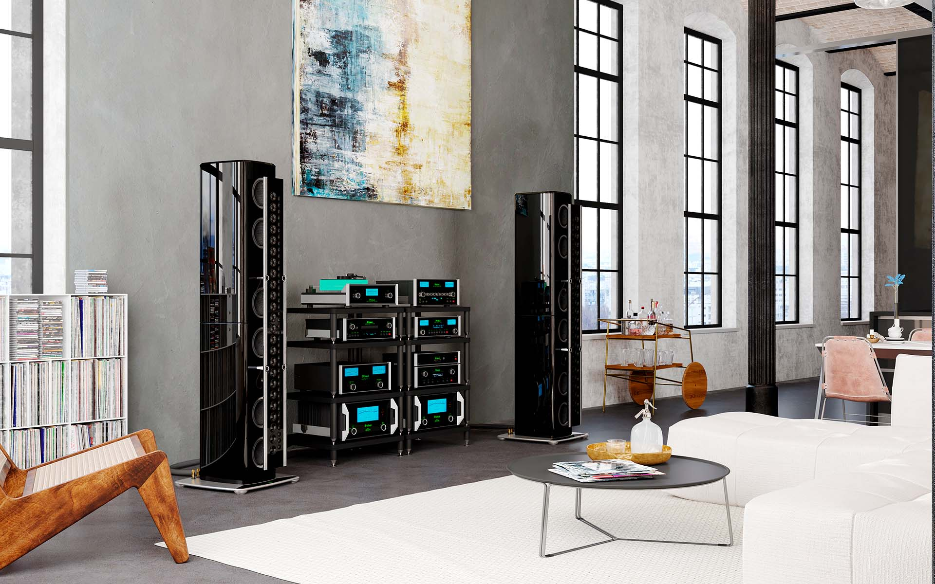 McIntosh SoHo I home audio music system