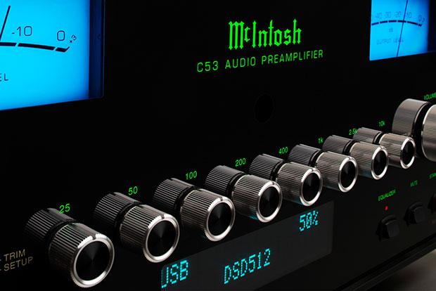 McIntosh C53 Preamplifier