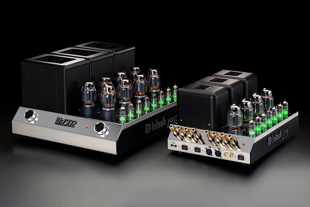 McIntosh MC1502 and MC275 Amplifier