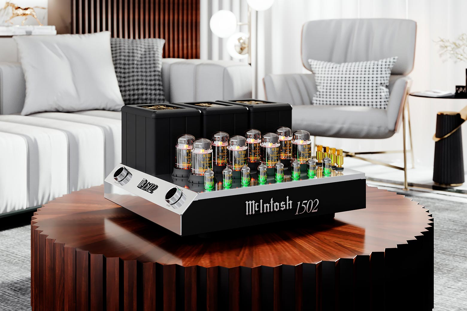 UPCOMING AMPLIFIER CLASSIC: REVIEW: MCINTOSH MC1502