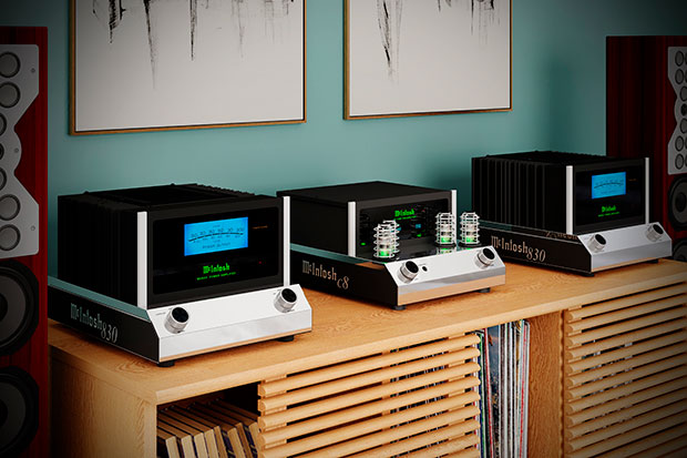 McIntosh MC830 Amplifier and C8 Preamplifier